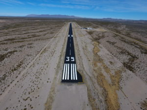 New Runway Surface in Presidio, Texas